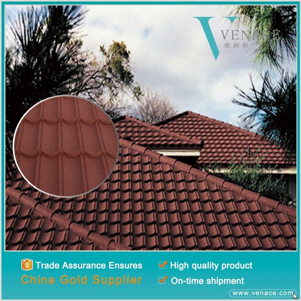 Building decorative material shed roof shingles