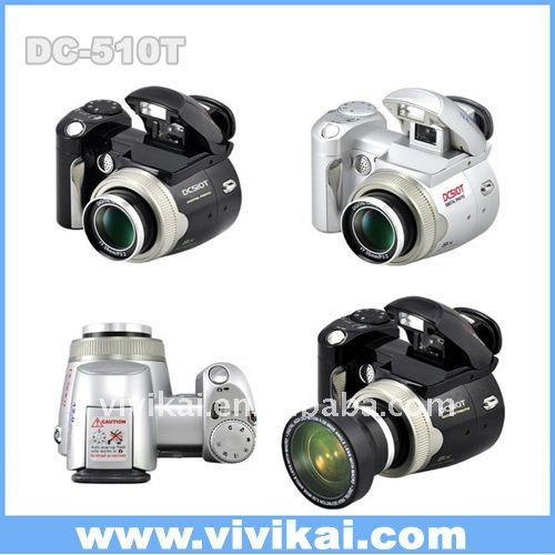 Hot selling Slr type 12Mege Pixels Digital camera with 2.4inch TFT screen and wide angle lens from OEM&ODM factory