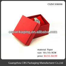 Small handmade gift packing pillow box for watch