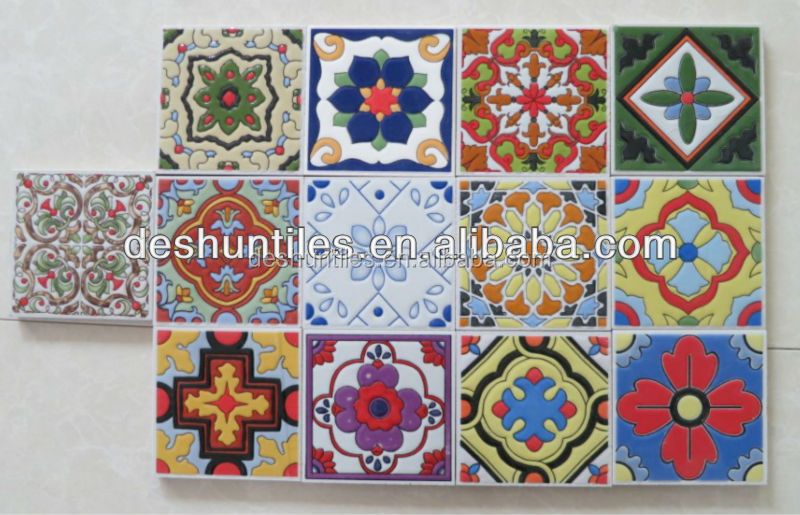 Spanish decorative tiles