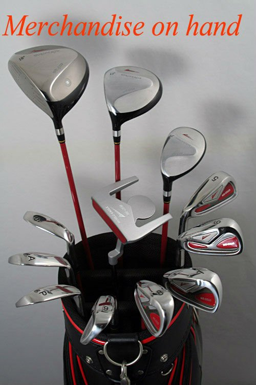 left hand golf club set for man