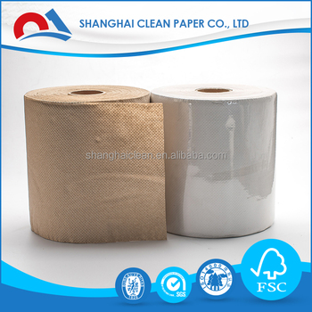 100% Virgin Wood Pulp Central pull hand towel paper
