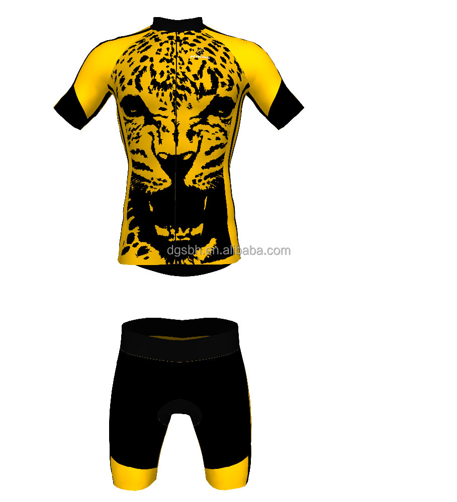 MARTIN FOX Newest Selling Custom Cycling jersey with short Leopard BRUCE L E E 2017 new style