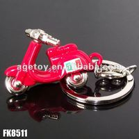 Italy Souvenir Metal Motorcycle Key Ring