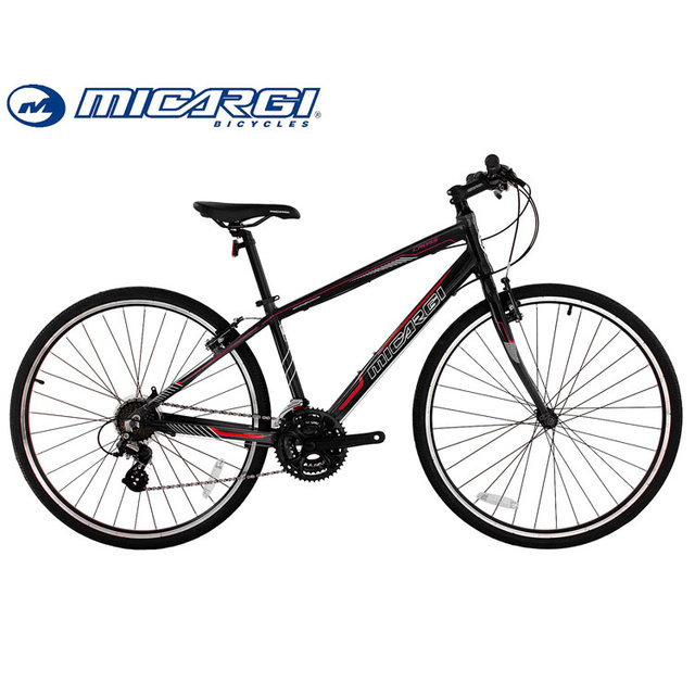 Micargi 700C Aluminum Frame Hybrid Bike CROSS 24 speed Road Bicycle China Factory