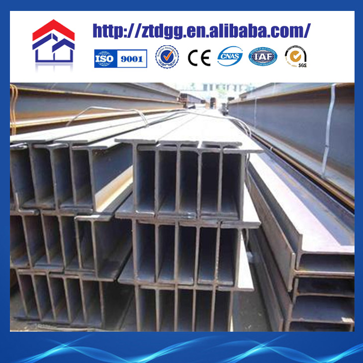 H Steel Column For Prefabricated Steel Structure House