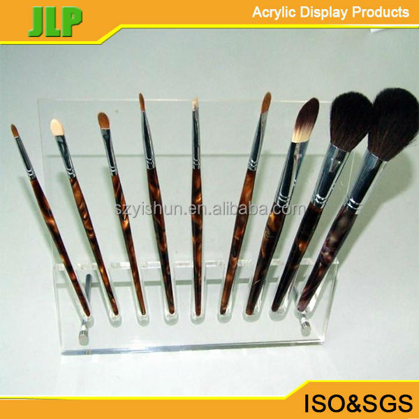 Customized clear Acrylic eyeliner display wholesale