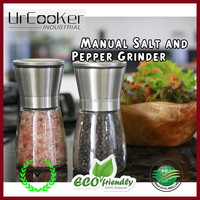 Best Quality 2PCS stainless steel salt and pepper grinder set