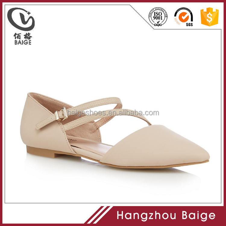 2017 branded copy 'Nespolo' new flat sandals shoes for lady