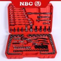 Best Selling 120 pcs Socket Wrench Set Hand Operated Tool Set