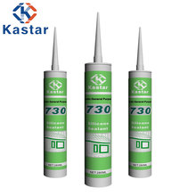 Waterproof nontoxic acetic GP silicone sealant for glass and aluminum alloy
