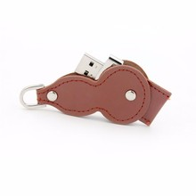 Hot Selling New Design Luxury Leather USB Best Promotion Gift High Quality Real leather usb logo
