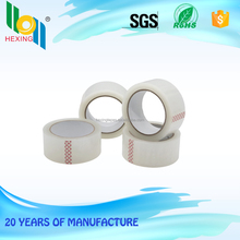 customized size packing clear bopp tape