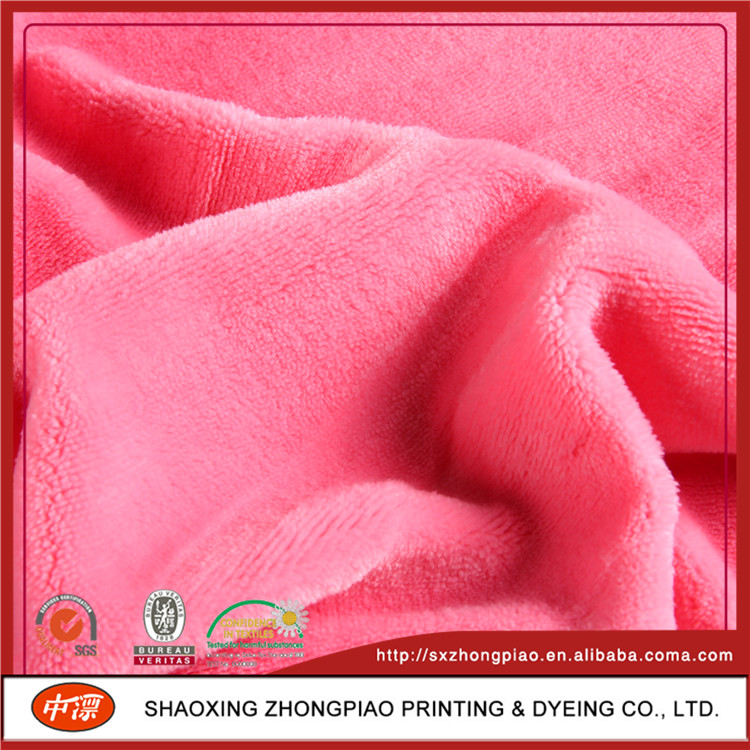Best Sale Custom Super Soft 100% Polyester stretch flannel fabric