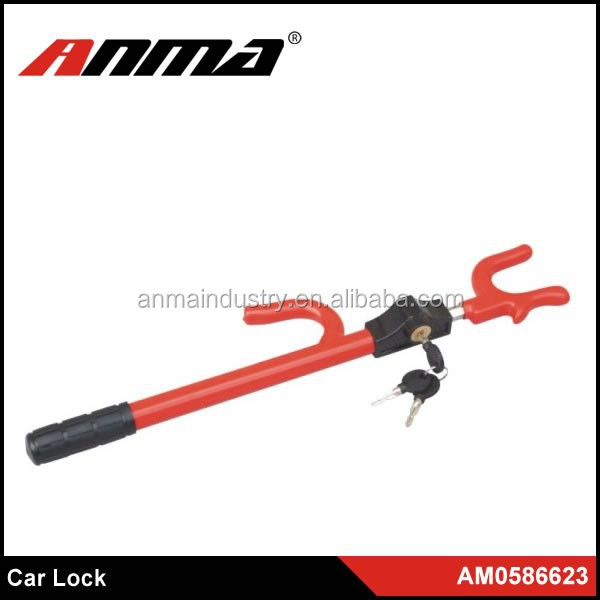 Heavy Duty Protection Double Claw steering column lock