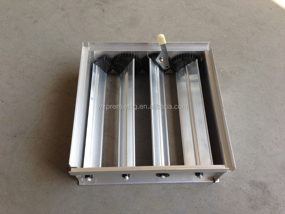 OBD Damper HVAC System air conditioning air diffuser aluminum opposed blades damper