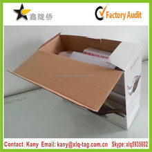 2015 Professional high quality custom foldable cardboard box with rope handle