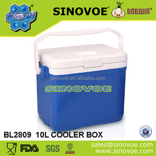 10L small portable outdoor camping ice cooler box