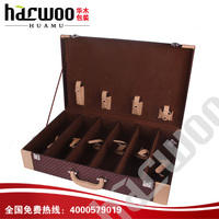 Decoration Wine box for 6 bottles,wine box