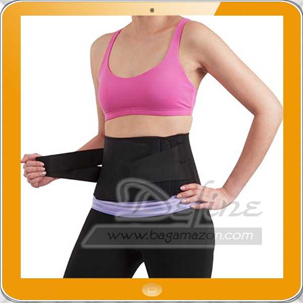 Dual Adjustable Waist Belt for back lumbar and core support