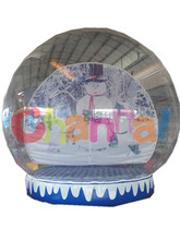 Inflatable Christmas Human Snow Globe/Inflatable Snow Globe