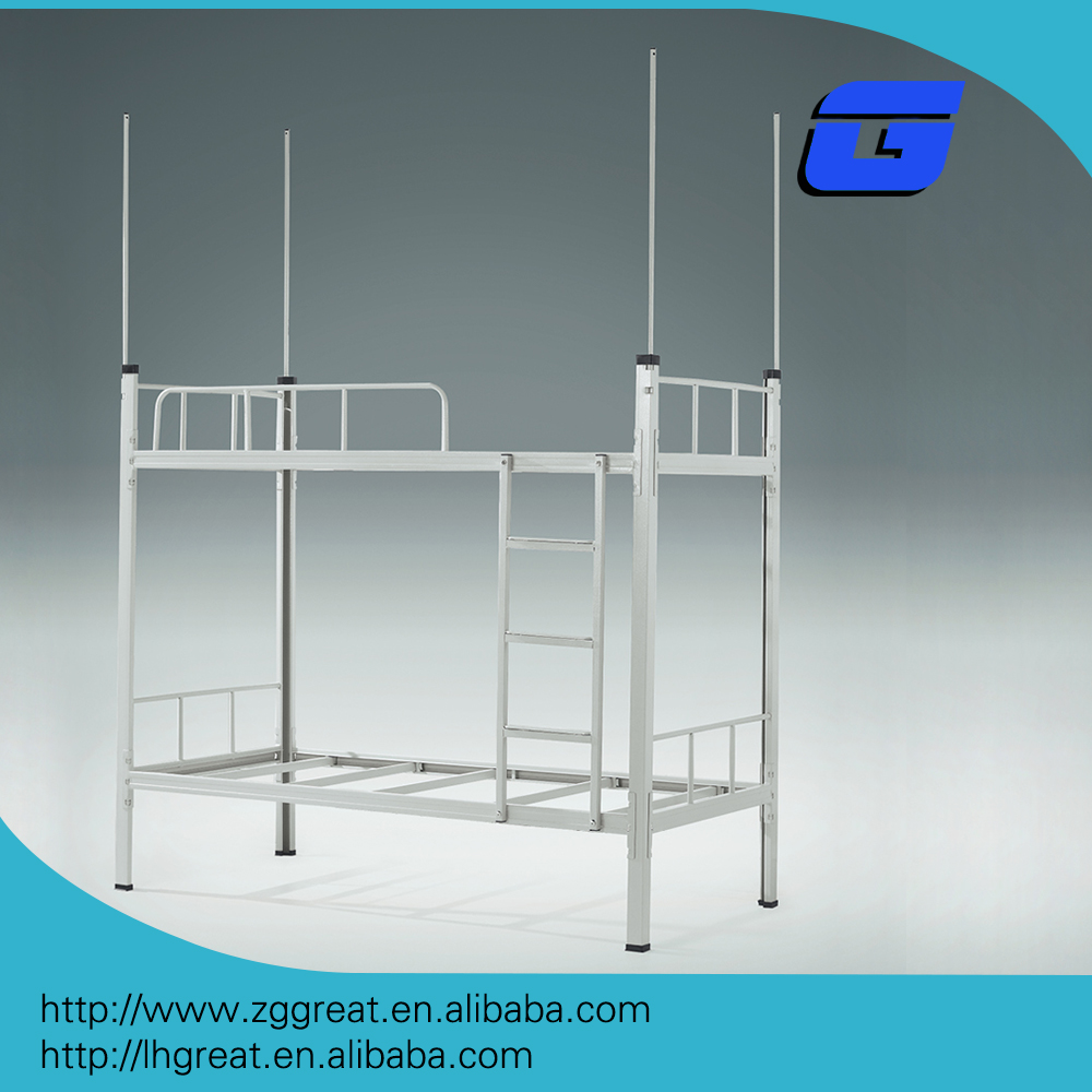 Cheap school furniture used metal bunk bed for sale