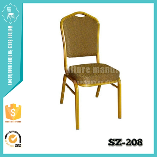 steel aluminum banquet chair rental SZ-208