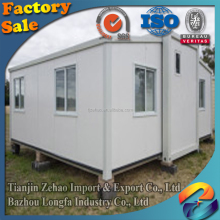 high quality light steel structure sentry box/military police station container house