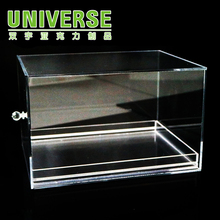 UNIVERSE customized acrylic shoe storage box shoes reveal ark