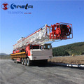 API 4F China Origin XJ450 truck-mounted workover rig
