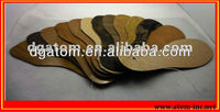 PVC leather rubber sole chemical sheet for shoes from Atom Shoes Material Limited