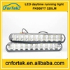 2014new arrival! 6W 12v Flexible drl/LED Daytime Running Light with turning switch FK-008-Y7 Top quality Low Price