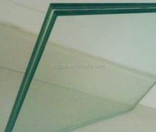 factory price safety building glass panel /tempered laminated glass
