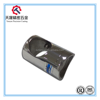 Stainless steel stair fittings handrail tube round tube connection