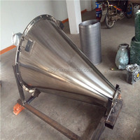 Vertical mixer for food industry
