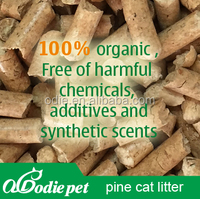 pine wood pellet sand /birch wood litter sand with free dusty ,non toxic