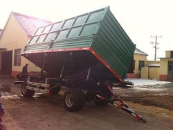 Direct factory sale!2t box used cargo trailer with good quality