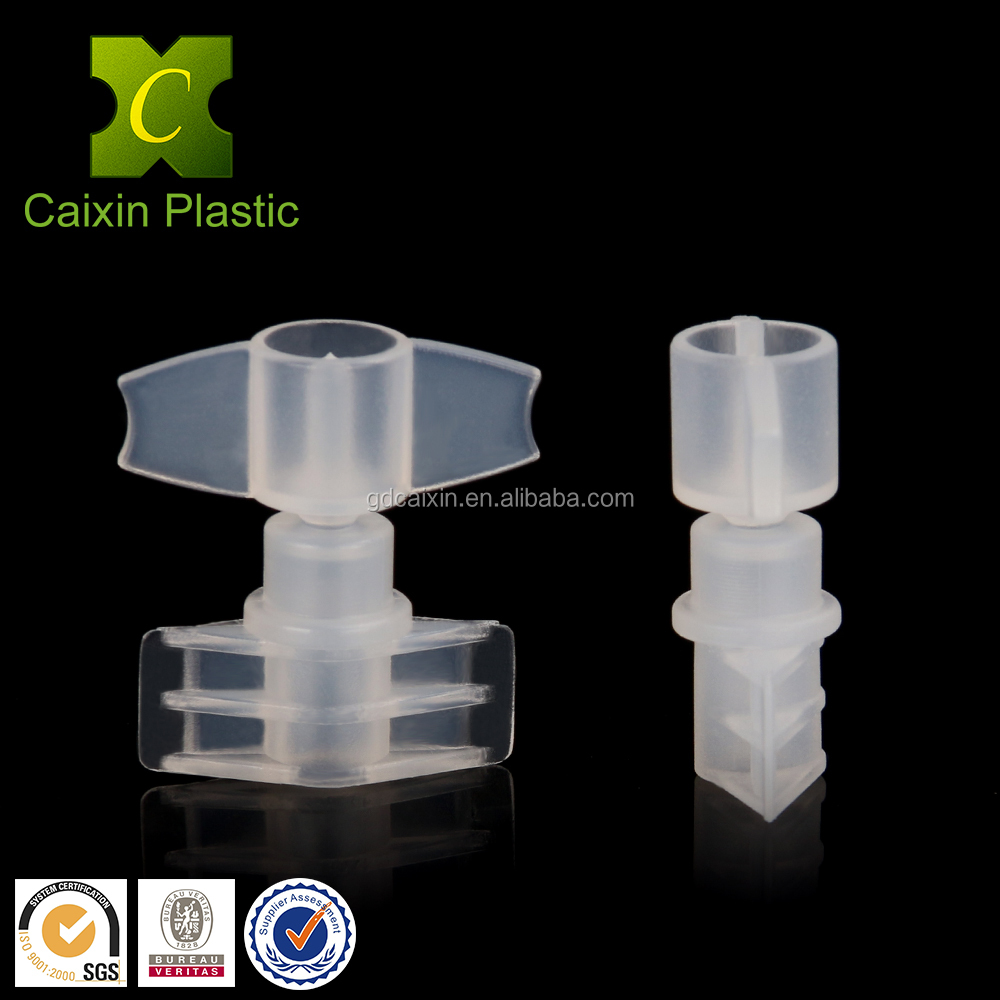 HDPE Raw Material 2.5mm Closure Plastic Spout and Cap for Make Up
