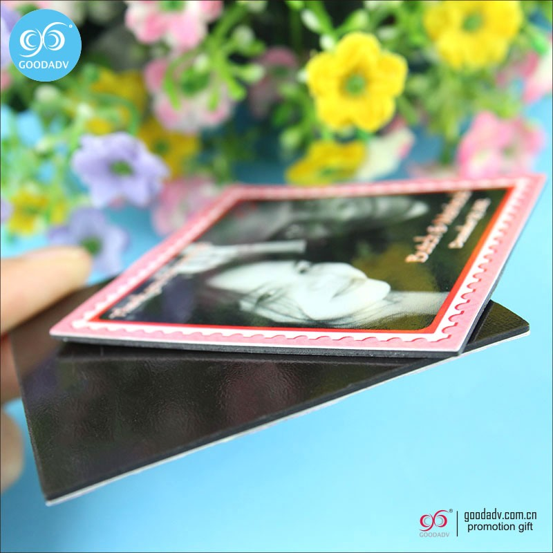 Souvenir custom printing you own photo product fridge magnet for home c
