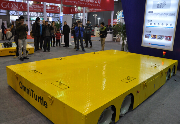 large cargo unmanned vehicle high tech Omni directional intelligent heavy duty electric transfer flat car vehicle