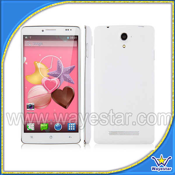 Cheapest china mobile phone quad core MTK6582