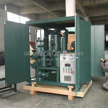 Two Stage Vacuum Transformer Dielectric Oil Filtration System/ Oil Dehydration