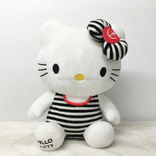 Wholesale hello kitty valentine's day plush doll for collectible soft plush toy