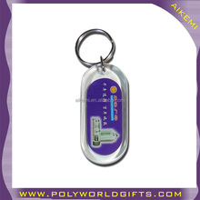 lovely design acrylic plastic type and photo keychain,plastic keychain photo holder,acrylic plastic keychain with logo