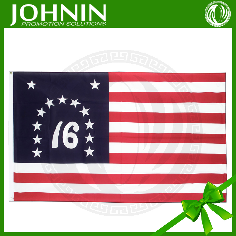 75D polyester fabric printed outdoor wholesale USA bennington 76 flag