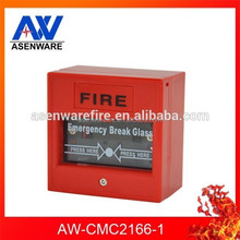 Manufacture 24V DC Manual Call Point Break Glass For Fire Alarm