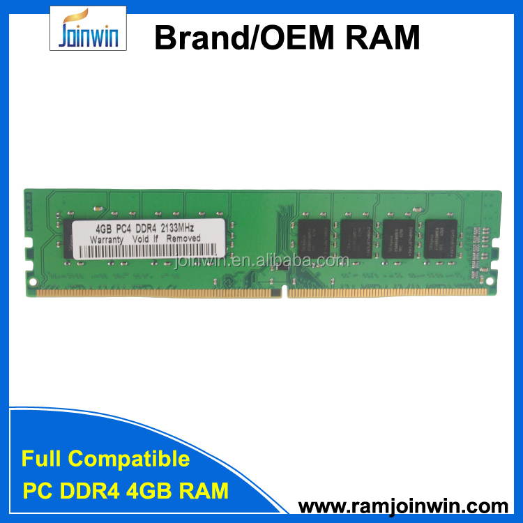 Brand new joinwin desktop 288pin 1.2V ddr4 ram 8gbmemory 2133mhz