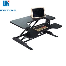 X-Elite Pro adjustable standing computer desk for dual monitors