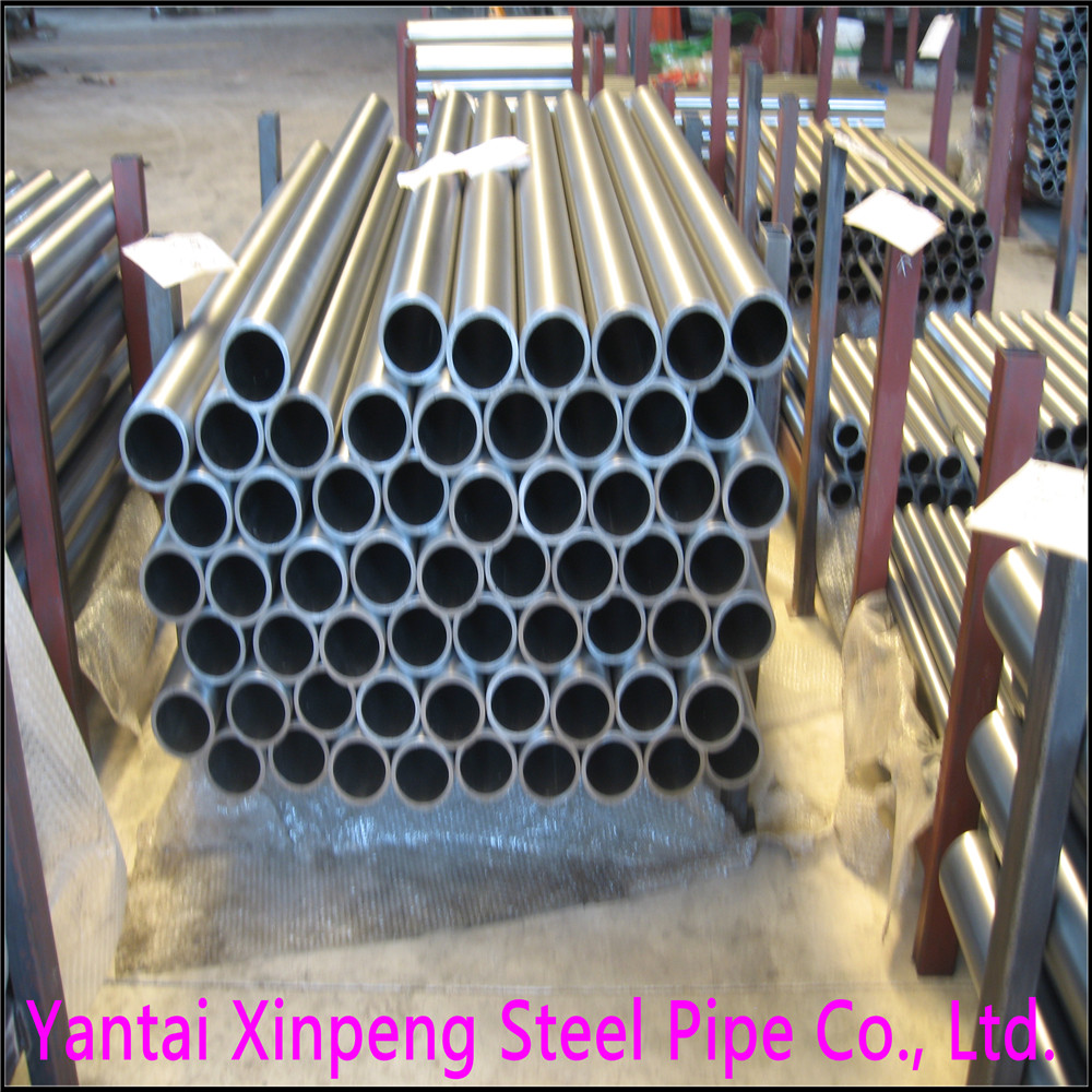China Carbon Steel Round CK45 ASTM1045 Precision Seamless Pipe