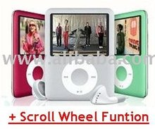 1.8 TFT Screen 3rd Gen MP4 Player with Scroll Wheel